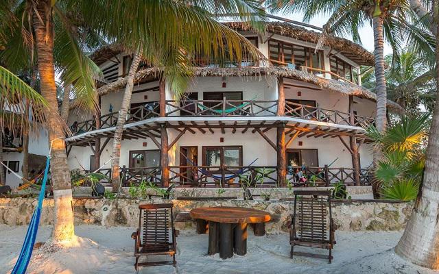 Beachfront Hotel La Palapa en Holbox Isla