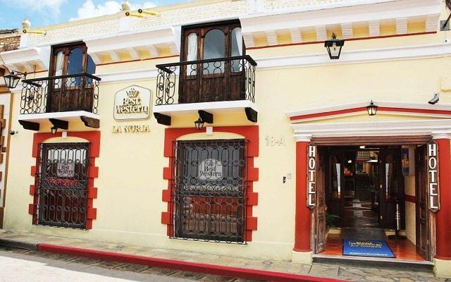 Hotel Best Western La Noria, buena ubicación en el Centro Histórico