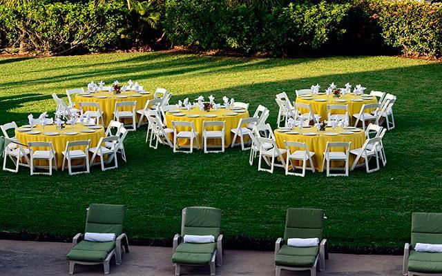 Celebra tus eventos especiales en los jardines del hotel