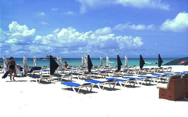 Blue Parrot Hotel 5th Avenue, cuenta con club de playa