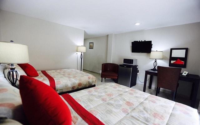 Boca Inn Hotel and Suites, habitaciones bien equipadas