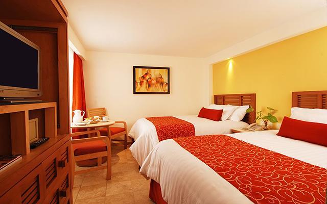 Habitación Deluxe con dos camas dobles