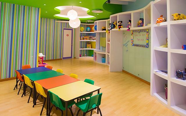 En el Kids Club los pequeños pasarán horas de recreación