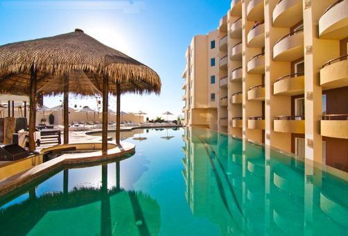 Alberca del hotel Cabo Villas Beach Resort and Spa
