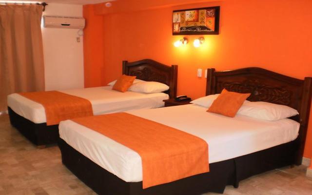 Calypso Hotel, habitaciones bien equipadas
