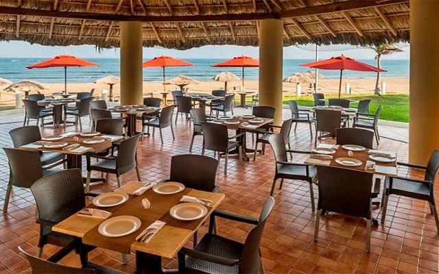 Camino Real Veracruz, Restaurante La Vela