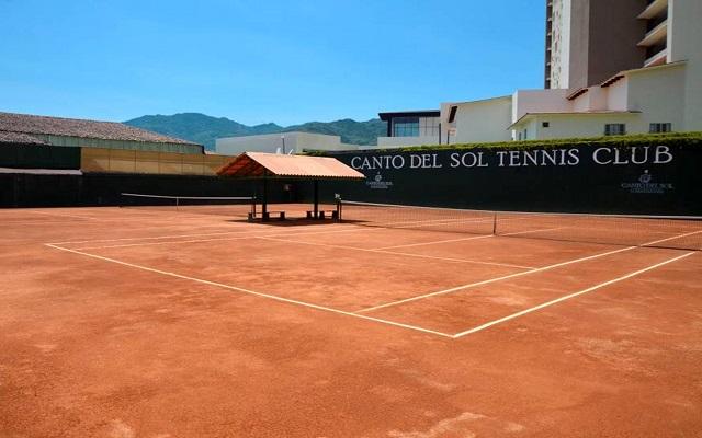 Canto del Sol All Inclusive Beach & Tennis Resort, cancha de tenis