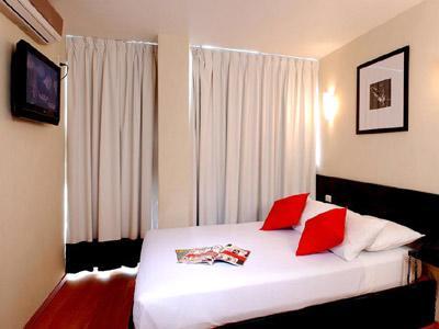 Vista de la habitación del hotel Casa de la Condesa Reforma
