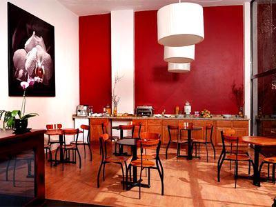Vista del restaurante del hotel Casa de la Condesa Reforma