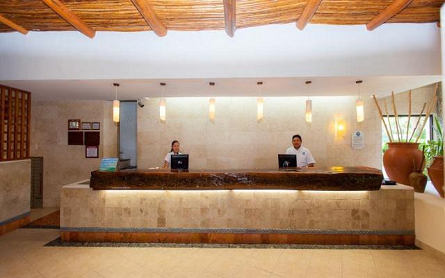 Recepción del hotel Casa del Mar Cozumel