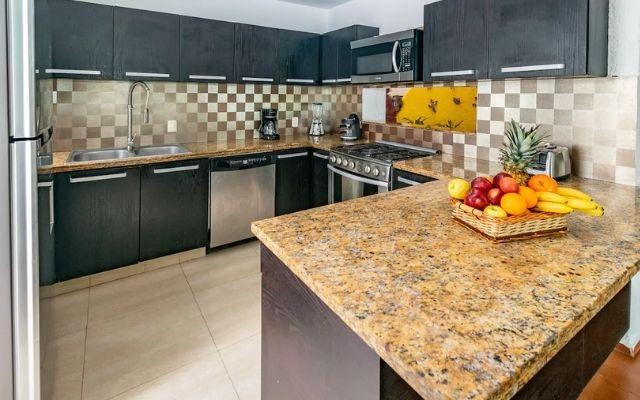 Casa Grande Céntrica en Cancún, cocina