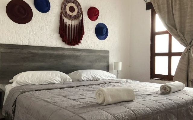 Casa Grande Céntrica en Cancún, habitación con cama king size