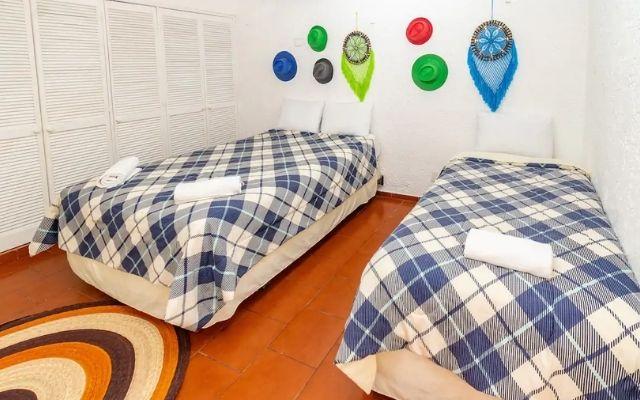 Casa Grande Céntrica en Cancún, habitación 2 camas