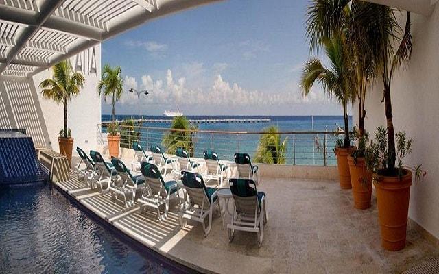 Casa Mexicana Cozumel, hermosa vista del Mar Caribe