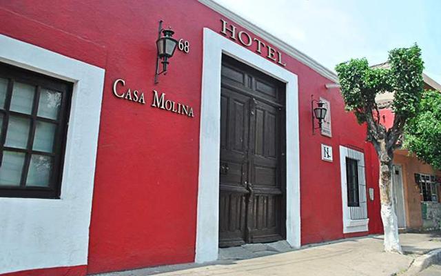 Hotel Casa Molina en Querétaro Ciudad