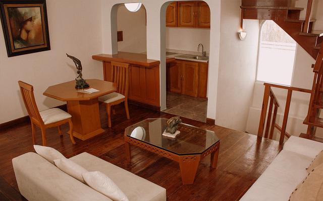 Cuenta con suites completamente equipadas