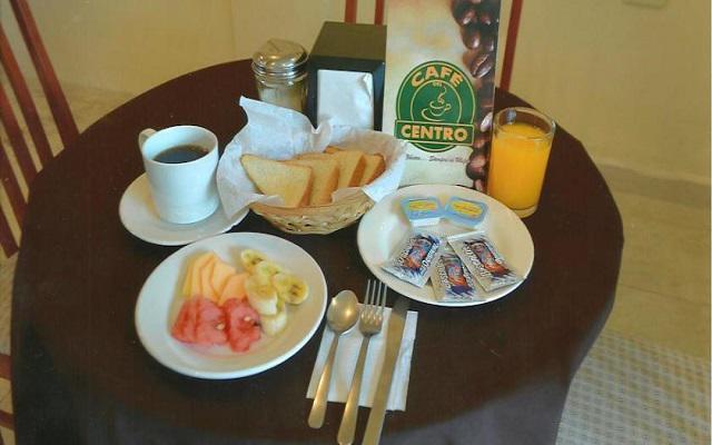 Se ofrece desayuno en cortesía