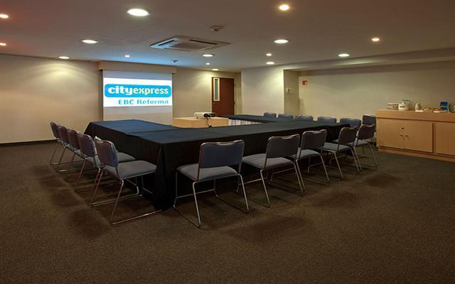 City Express EBC Reforma, sala de reuniones