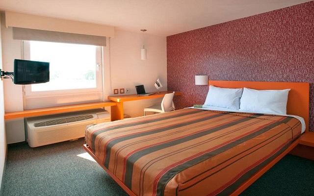 Hotel City Express Junior Guadalajara Periférico Sur, habitaciones bien equipadas