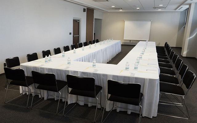 Sala de juntas para reuniones de trabajo.