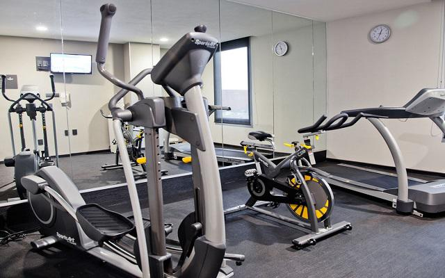 Podrás continuar con tu rutina de ejercicios en el gimnasio