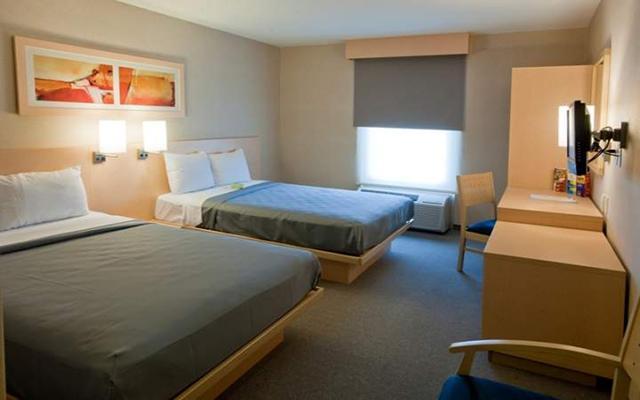 City Express Saltillo Sur, habitaciones con todas las amenidades