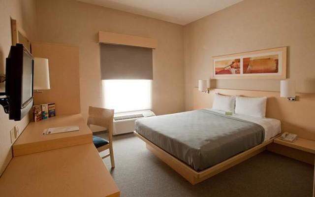 City Express Saltillo Sur, habitaciones bien equipadas