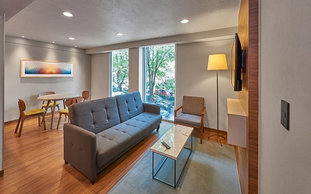 City Express Suites Anzures, ambientes diseñados para tu confort