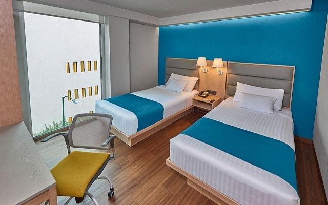 City Express Suites Anzures, habitaciones con todas las amenidades