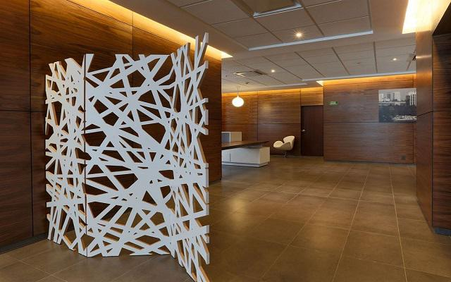 Lobby del hotel.