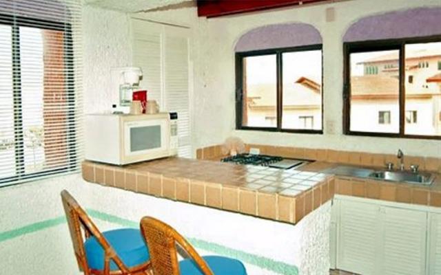 Habitaciones del hotel con cocineta