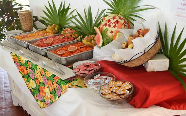 Desayuna en su muy completo y variado buffete