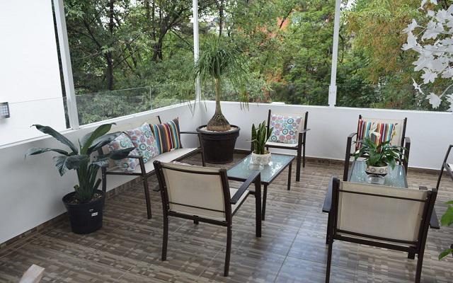 Hotel Condesa 185, relájate en la terraza