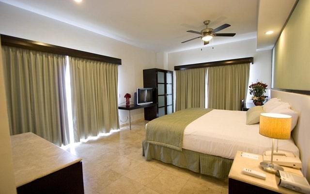 Coral Island Beach View Hotel, habitaciones bien equipadas