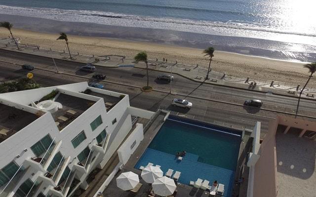 Coral Island Beach View Hotel, vistas increíbles
