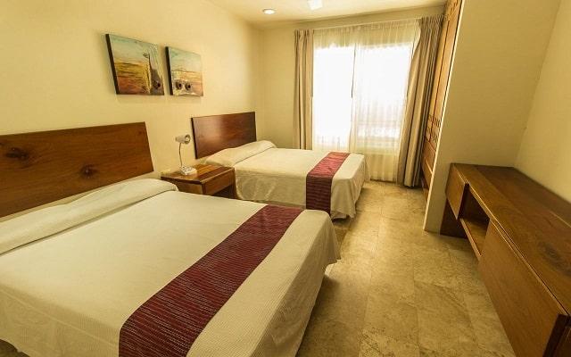 Coral Maya Turquesa Condo Hotel, amplias y luminosas habitaciones