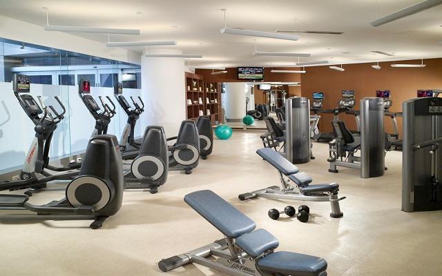 No dejes de hacer ejercicio y aprovecha de las máquinas y pesas del gimnasio.
