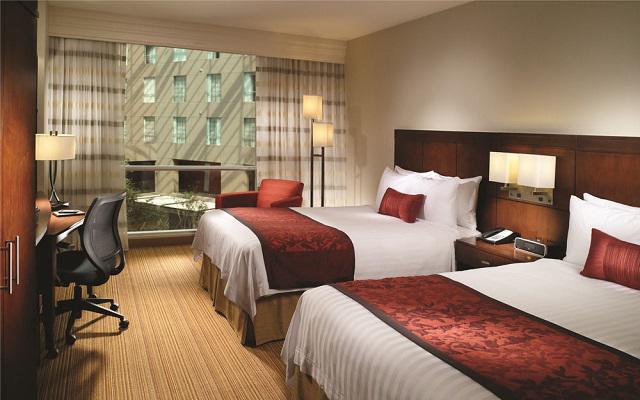 Habitación con cama king o 2 dobles.