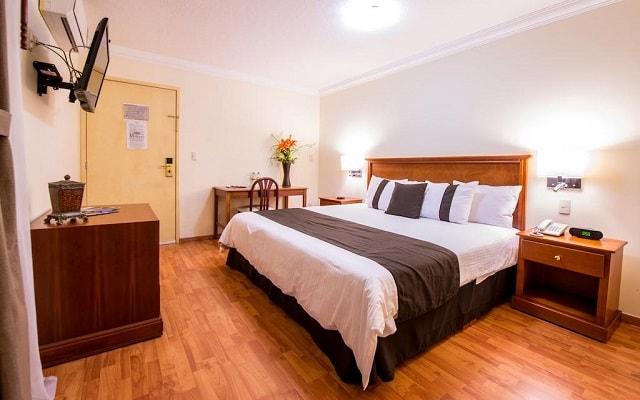 Del Marqués Hotel and Suites, habitaciones con todas las amenidades