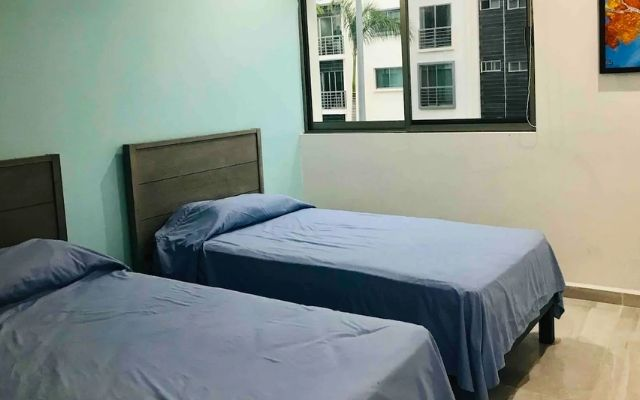 Departamento de Lujo Cancún Aeropuerto, habitación