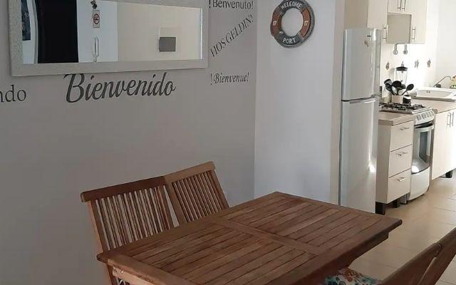 Departamento para Vacacionar en Playa del Carmen, comedor