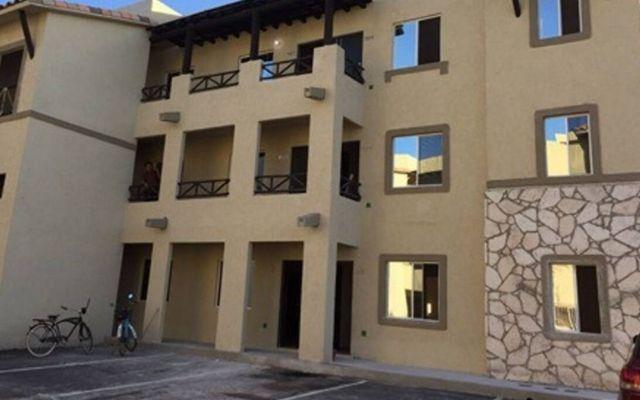 Departamento para Vacacionar en Playa del Carmen, fachada edificio
