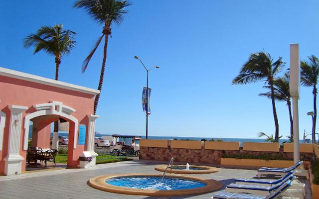 Área de Jacuzzi Don Pelayo Pacific Beach Mazatlán