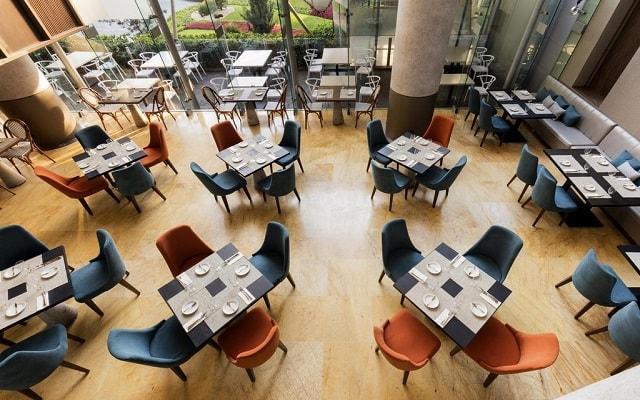 DoubleTree by Hilton Hotel Mexico City Santa Fe, escenario ideal para tus alimentos