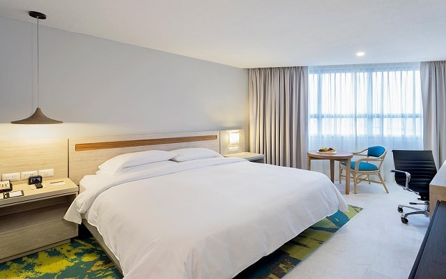 Doubletree by Hilton Hotel Veracruz, habitaciones bien equipadas