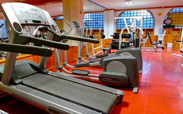 El Ameyal Hotel and Family Suites, gimnasio bien equipado
