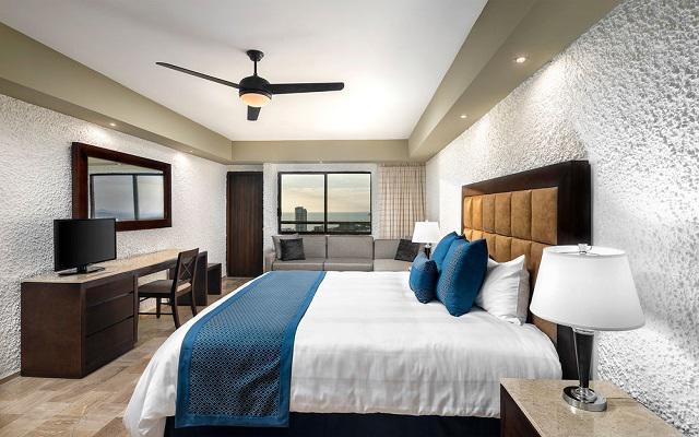 El Cid El Moro Hotel de Playa, habitaciones bien equipadas