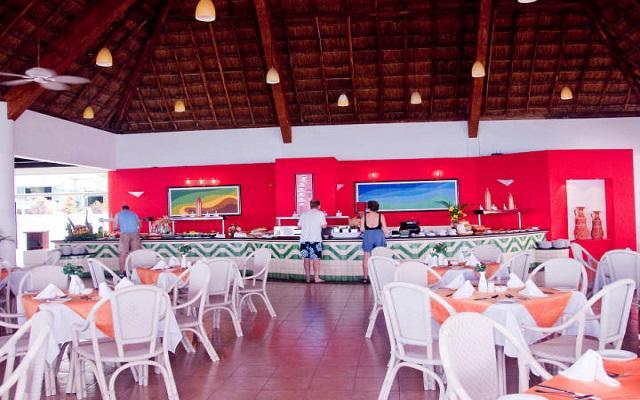 El restaurante ofrece comida mexicana