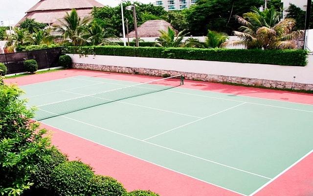 El Cid La Ceiba Beach Hotel, cancha de tenis