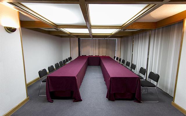 El Diplomático, sala de reuniones